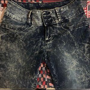 Women's thin skinny jeans